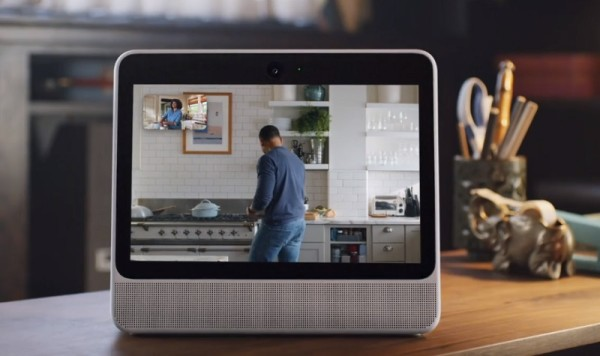 Facebook Portal Device With Voice Enabled Hands-Free Video Calling