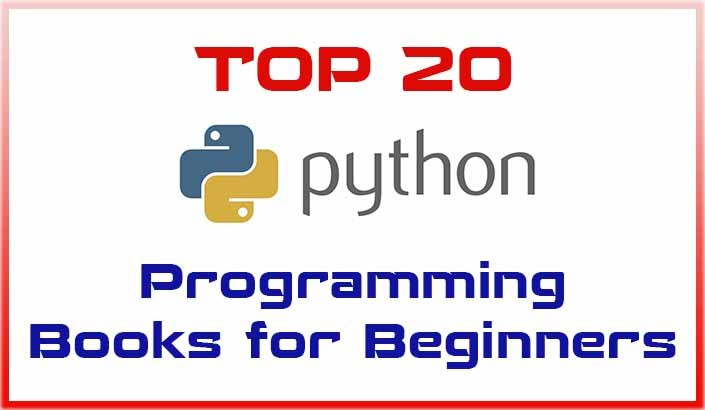Top 20 Python Programming Books for Beginners – Web